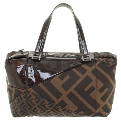Fendi Handtasche in Braun