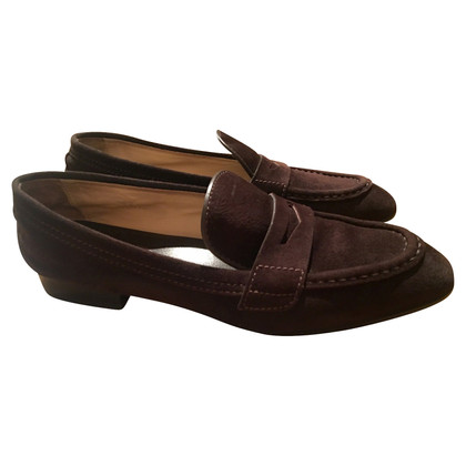 Tod's Tod's Loafer brown suede, size 39