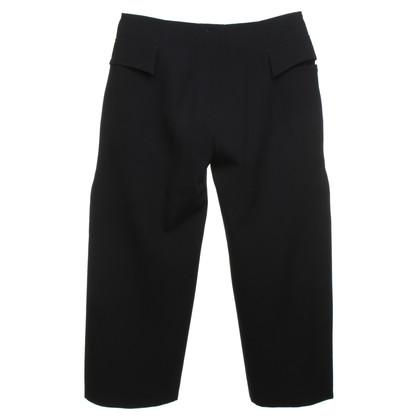 Marni trousers in dark blue