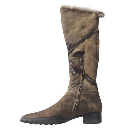 Baldinini Boots with fur lining