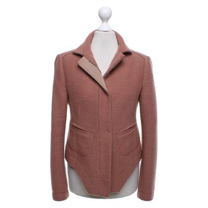 Carven Jacket in rust brown