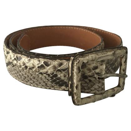 Reptile's House Snakeskin belt