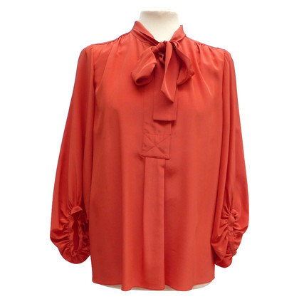 Diane von Furstenberg Silk blouse with bow