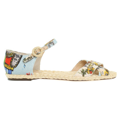 Dolce & Gabbana Sandals with print