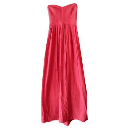 Parker Bandeau silk dress