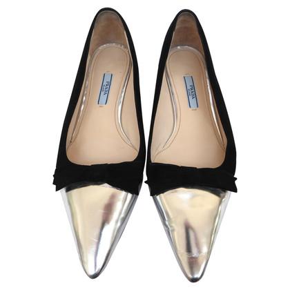 Prada Ballerina's Velvet Bow