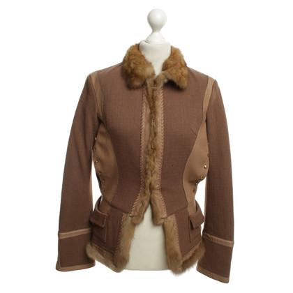 Roberto Cavalli Jacket with fur
