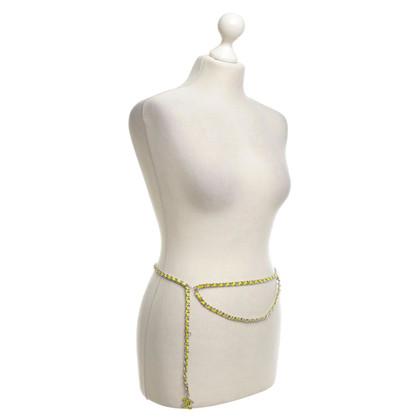 Chanel Cintura catena argentea