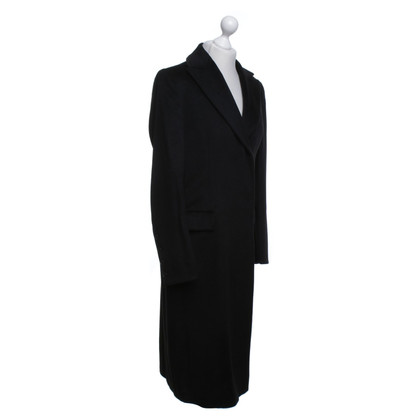 Hugo Boss Long coat in black