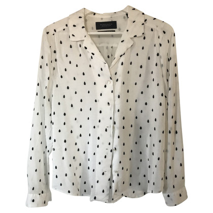 Maison Scotch Blouse with pattern