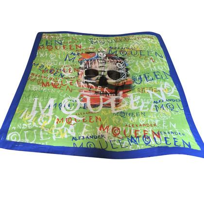 Alexander McQueen Tuch mit Print