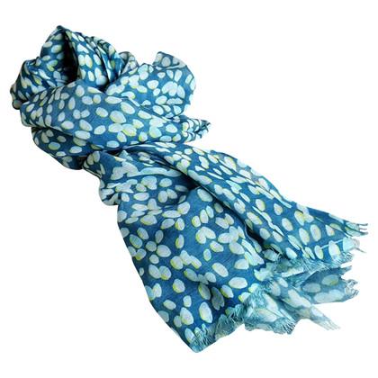 Longchamp Cashmere / silk scarf