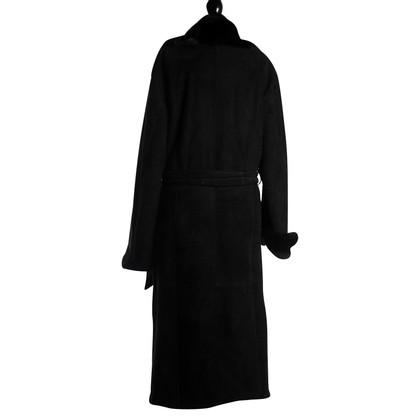 Gucci pelliccia di camoscio Cappotto