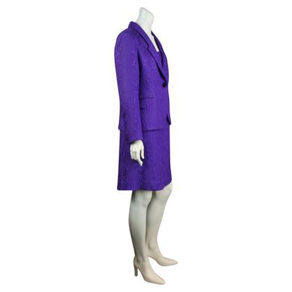 Altre marche abito da cocktail viola con giacca