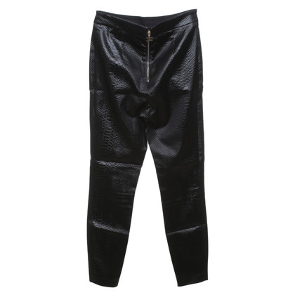 Elisabetta Franchi trousers in black