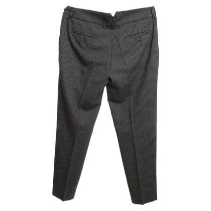 D&G trousers with check pattern