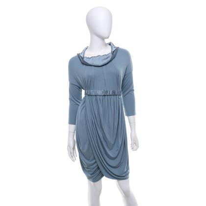 Twin-Set Simona Barbieri Dress in grey blue