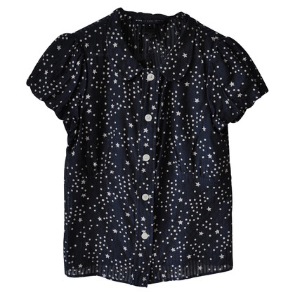 Marc by Marc Jacobs Blusa in seta