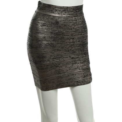 BCBG Max Azria Metallic Mini Skirt