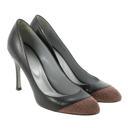 Sergio Rossi Pumps with Pearl Studs