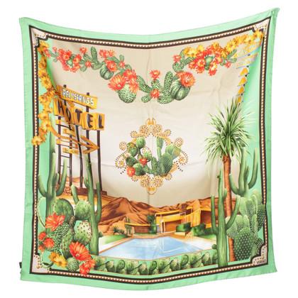 Versace Silk scarf design print