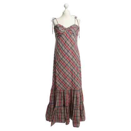 Ralph Lauren Maxi dress with Plaid
