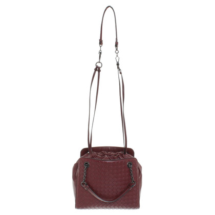 Bottega Veneta Handbag in Bordeaux
