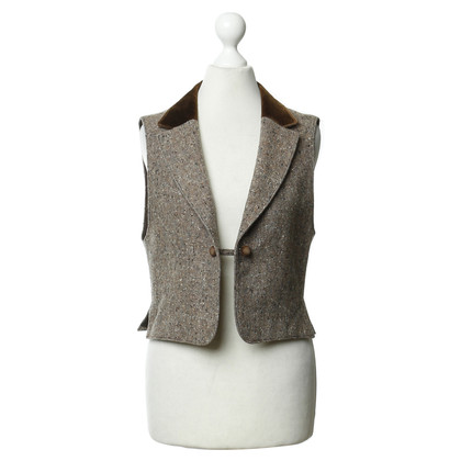 Karl Lagerfeld Vest in Brown