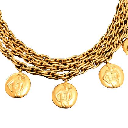 Chanel Ketting in goud