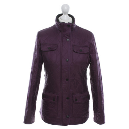Barbour aubergine jacket
