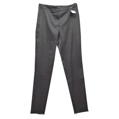 Chanel pantaloni di seta con tasche