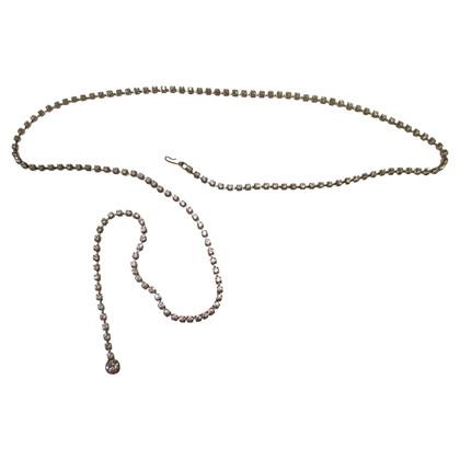 Andere merken Chain belt with Swarovski kristallen