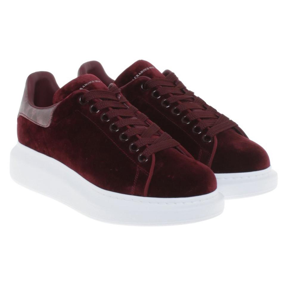 Alexander McQueen Sneakers of velvet