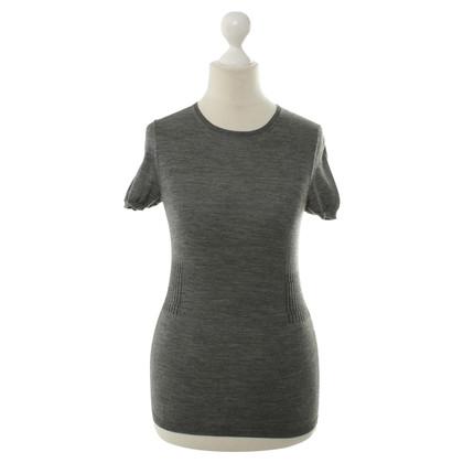 Jil Sander Short sleeve sweater in grey