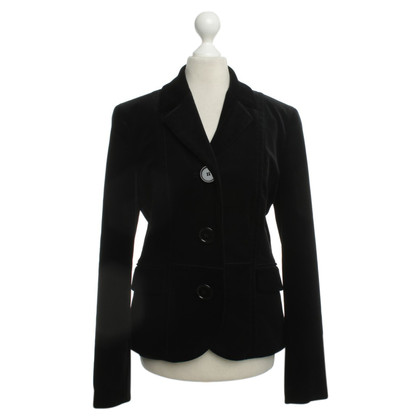 Hugo Boss Fluweel Blazer in zwart
