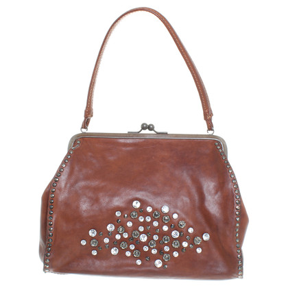 Campomaggi Leather handbag in Brown
