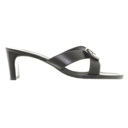 Chanel Sandals in black