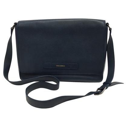 Dolce & Gabbana Blu Marine messanger bag