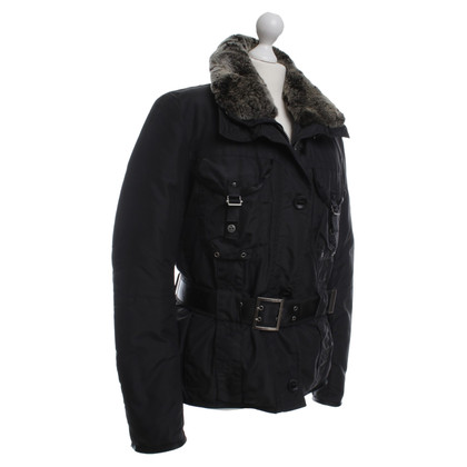Peuterey Real fur collar jacket