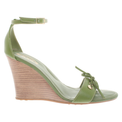 Tod's Wedges in green