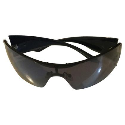 Giorgio Armani Black mask glasses
