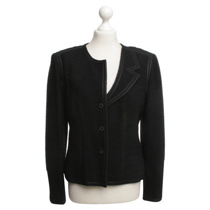 Chanel Blazer with asymmetrical collar