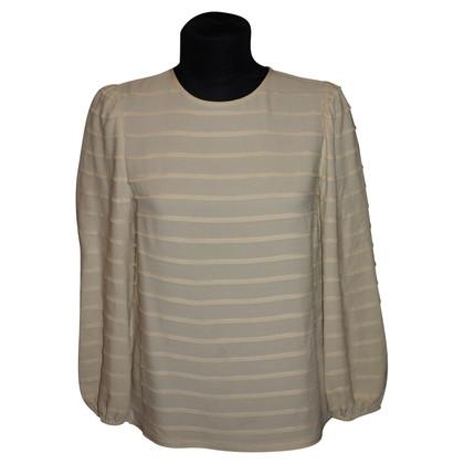 Tory Burch Beige zijden blouse