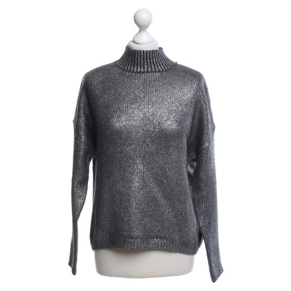 FFC Pullover in Silber-Optik