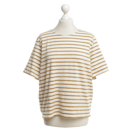 Ganni T-shirt with striped pattern