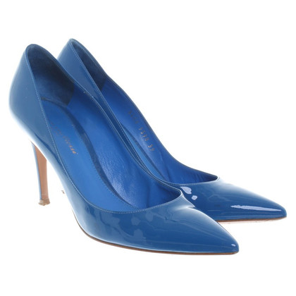 Gianvito Rossi Pumps in Blau