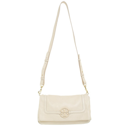 Tory Burch clutch in cream white