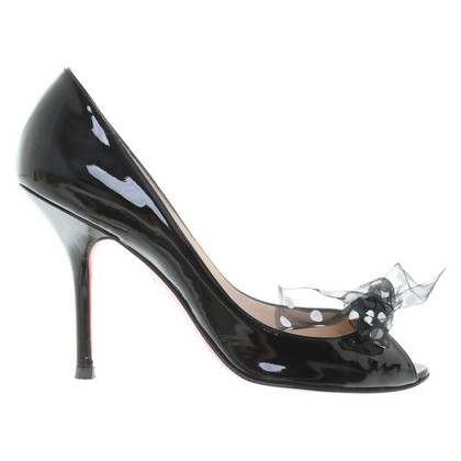 Christian Louboutin Peeptoes made of patent leather