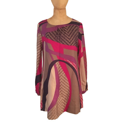 Set silk dress
