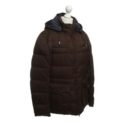 Brunello Cucinelli Down jacket in dark brown
